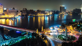 开罗晚上 免版税库存照片