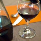 红色法国葡萄酒 免版税库存图片