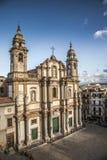 教会西班牙托钵僧圣徒 免版税库存照片
