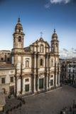 教会西班牙托钵僧圣徒 库存图片
