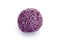 装饰紫色缠结 免版税库存照片