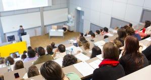 Διάλεξη στο πανεπιστήμιο Στοκ φωτογραφία με δικαίωμα ελεύθερης χρήσης