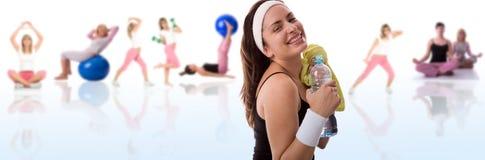 概念健身 免版税库存图片