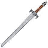 平直的剑 库存图片