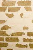 有老绘画的砖墙 免版税图库摄影