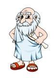 古老哲学家 库存图片
