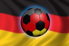 德国足球 免版税库存图片