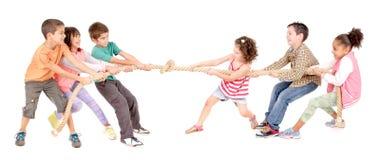 Игра веревочки Стоковое Изображение