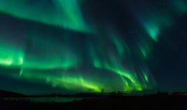 Северное сияние Стоковая Фотография