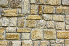 Старая стена каменной кладки Стоковая Фотография RF