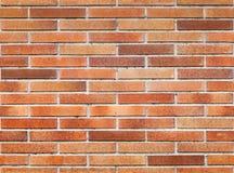红砖墙壁无缝的背景纹理  免版税库存图片