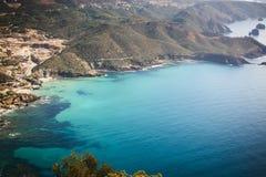 绿松石撒丁岛 免版税图库摄影