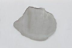 背景的水泥破裂的地板纹理 免版税库存照片