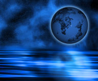 超现实的地球 免版税图库摄影