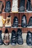 Ботинки зимы Стоковая Фотография