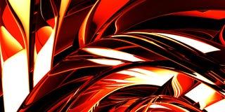 горячий красный цвет металла Стоковая Фотография