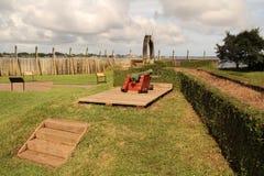 堡垒卡罗琳全国纪念品 库存图片