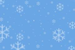 χιόνι νιφάδων Στοκ Φωτογραφία