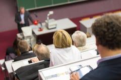 Лекция в университете Стоковая Фотография RF