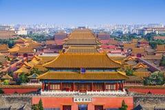 Запретный город Пекина Китая Стоковые Фото