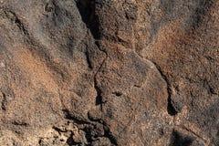 熔岩石头 库存照片