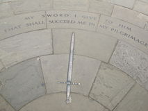 剑,克里斯教会学院 库存图片