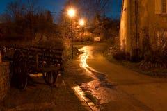 οδός νύχτας Στοκ εικόνα με δικαίωμα ελεύθερης χρήσης