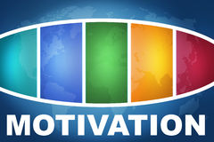 Мотивация Стоковые Фотографии RF