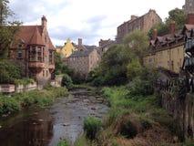 爱丁堡新的城镇 库存图片