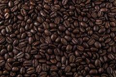 咖啡豆背景纹理 免版税库存图片