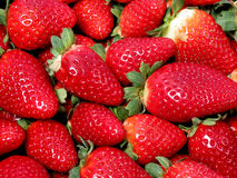 草莓纹理 免版税图库摄影