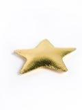 золотистая звезда подушки Стоковые Фотографии RF