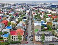 冰岛雷克雅未克 图库摄影