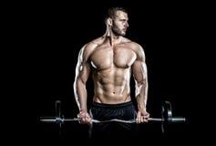 健身房训练锻炼 图库摄影
