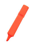橙色标志 免版税库存图片