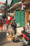 Уличный торговец Стоковые Фото