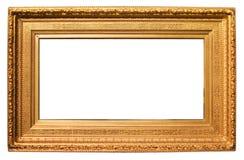 金黄的框架 免版税图库摄影