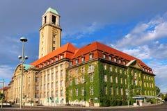 斯潘道城镇厅,柏林,德国 免版税库存照片
