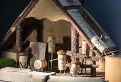 Сельский дом пробочки Стоковые Фотографии RF