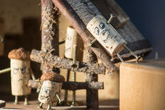 Сельский дом пробочки Стоковое фото RF
