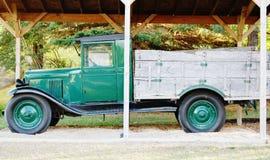 古色古香的薛佛列卡车北达科他 库存图片
