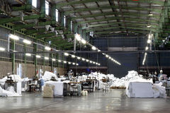 空的工厂 免版税库存照片