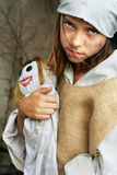 儿童贫寒 免版税库存图片