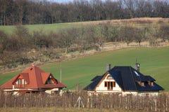 波兰村庄 免版税库存图片