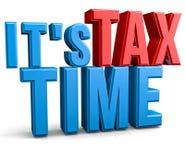 φορολογικός χρόνος Στοκ φωτογραφίες με δικαίωμα ελεύθερης χρήσης