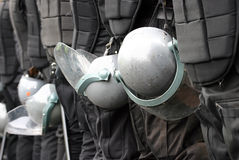полиции усилия Стоковые Изображения RF
