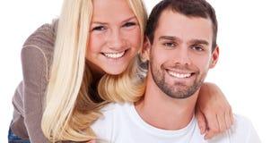 有吸引力的夫妇年轻人 库存图片