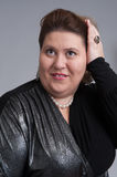 肥胖老年妇女图片
