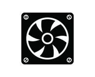 Вентилятор компьютера Стоковые Изображения RF