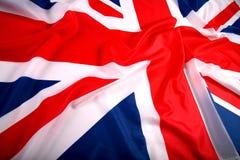 флаг Великобритания Стоковая Фотография